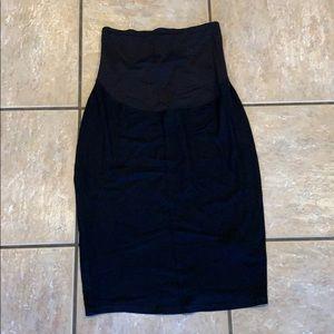 Old Navy Maternity Skirt Black Stretchy